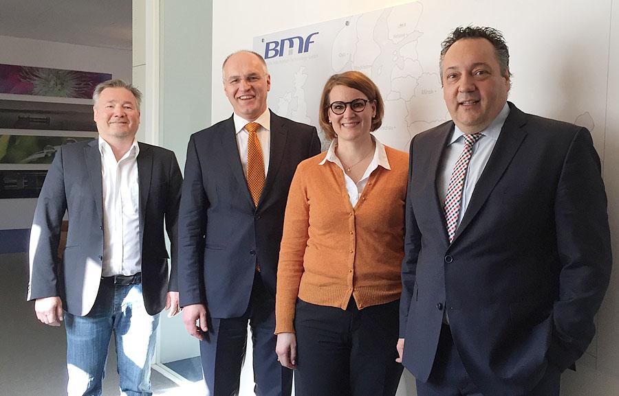 BMF GmbH freut sich über Networking in Augsburg