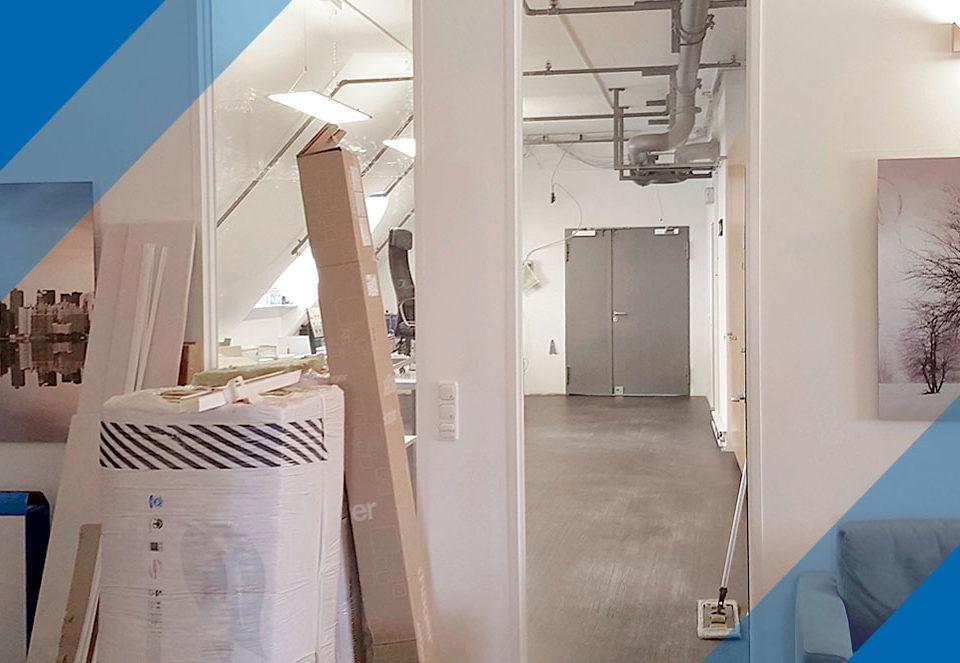 Umbau des Büros